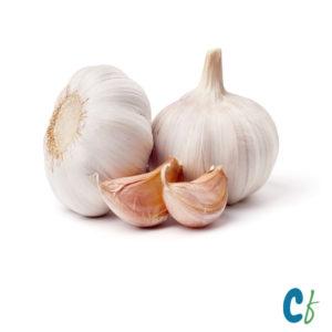Pesticides-free garlic