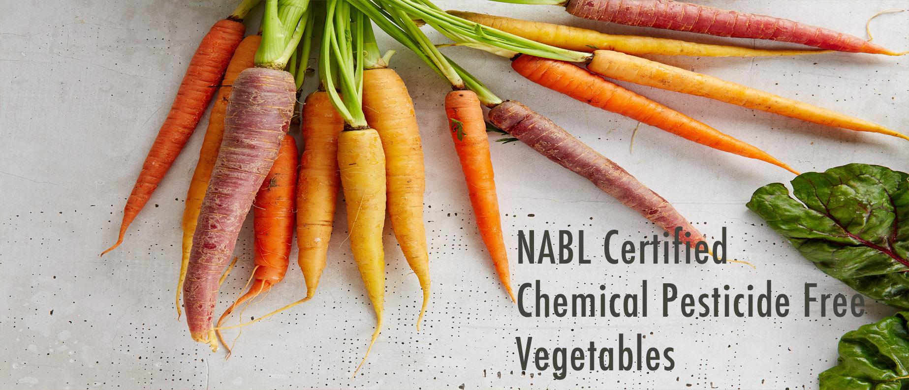 NABL Certified vegetables